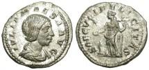 Ancient Coins - IULIA MAESA. SILVER DENARIUS. NICE PORTRAIT. GOOD CONDITION