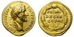 Ancient Coins - ROMAN EMPIRE. ANTONINUS PIUS. GOLD AUREUS. NICE ISSUE !