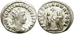 Ancient Coins - GALLIENUS. AD 260-268.  ANTONINIANUS. ANTIOCH. INTERESTING COIN.