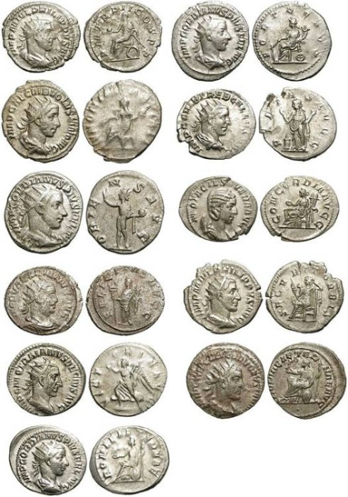 Ancient Coins - GROUP OF 11 AG ANTONINIAN. VERY ECONOMIC & AFFORDABLE /1