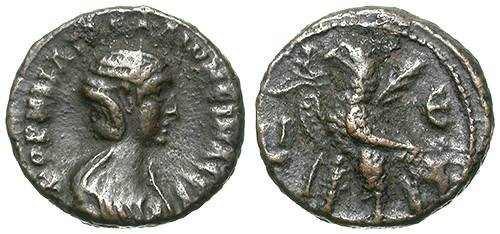 Ancient Coins - SALONINA. ALEXANDRIA. BILLON TETRADRACHM. NICE ISSUE !