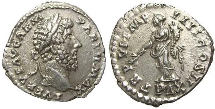 Ancient Coins - LUCIUS  VERUS.  DENARIUS .GOOD  QUALITY.