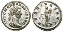 Ancient Coins - PROBUS. 276-282 AD. ANTONINIANUS. ROME. SCARCE.  FANTASTIC PORTRAIT.