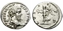 Ancient Coins - SEPTIMIUS SEVERUS. AD 193-211. SILVER DENARIUS. ATTRACTIVE.
