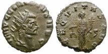 Ancient Coins - CLAUDIUS II GOTHICUS. BILLON ANTONINIANUS. SECVRITAS. GOOD PORTRAITURE