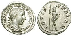 Ancient Coins - GORDIAN III. SILVER DENARIUS. FDC. BEAUTIFUL COIN !