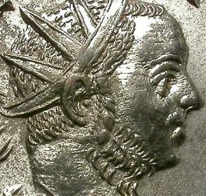 Ancient Coins - TACITUS. BILLON ANTONINIANUS. LUGDUNUM MINT. SO ATTRACTIVE