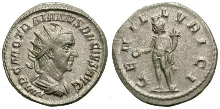 Ancient Coins - TRAIAN DECIUS. ANTONNINIAN. GENIO ILLVRICI. NICE COIN