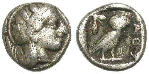 Ancient Coins - ATHENS-ATTICA. DRACHM. ATRRACTIVE CLASSICAL STYLE. NICE ISSUE