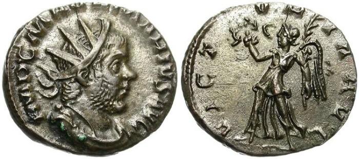 Ancient Coins - MARIUS. AE ANTONINIANUS. AD 269. COLONIA AGRIPPINA. RARE. NICE PORTRAIT.