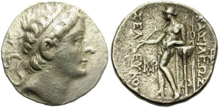 Ancient Coins - SELEUKOS II KALLINIKOS. TETRADRACHM. SELEUKID EMPIRE. DECENT SPECIMEN /2
