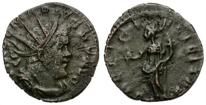 Ancient Coins - MARIUS. AD. 269. ANTONINIANUS.  SCARCE EMPEROR.  ATTRACTIVE.