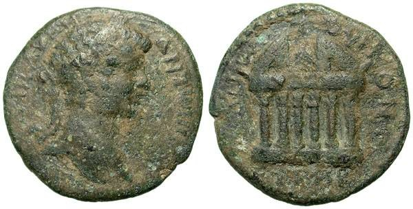 Ancient Coins - CARACALLA. ZELA in PONTUS. F. RARE ISSUE. AFFORDABLE !