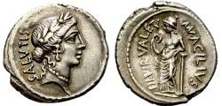 Ancient Coins - ROMAN REPUBLIC. ACILIUS. 49 BC. DENARIUS. NICE COIN. ATTRACTIVE REPUBLIC  EMISSION.
