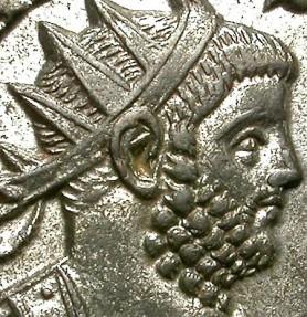 Ancient Coins - CARINUS. BILLON ANTOPNINIANUS. EXCELLENT PORTRAIT !