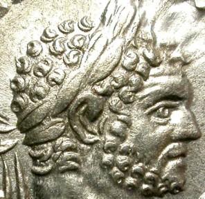 Ancient Coins - CARACALLA. A.D 198-217.  SILVER DENARIUS. GREAT PORTRAIT.