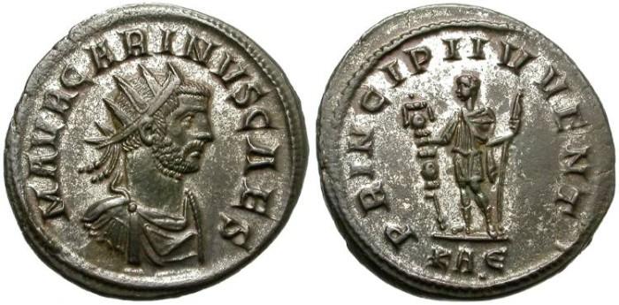 Ancient Coins - CARINUS. BILLON ANTONINIANUS. ROME MINT. NICE ISSUE