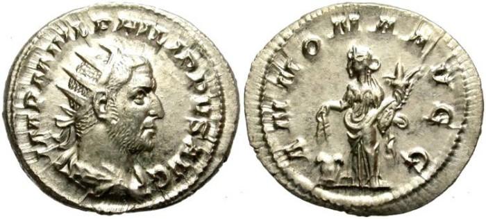 Ancient Coins - PHILIP I.  AR ANTONINIAN. EXCELLENT CONDITION.