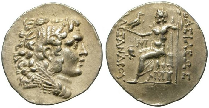 Ancient Coins - ALEXANDER THE GREAT. POSTHUMOUS ISSUE. MESSEMBRIA. SO NICE !