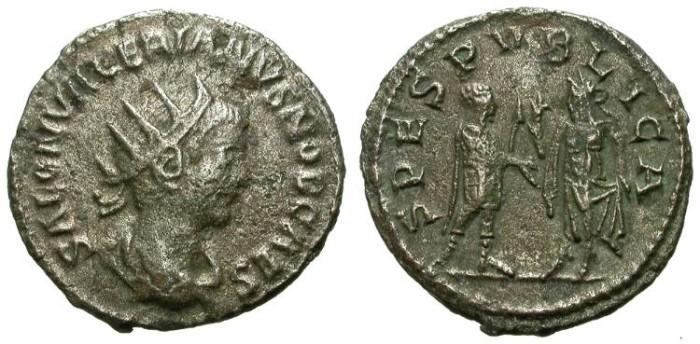 Ancient Coins - SALONINUS. ANTONINIAN. SCARCE