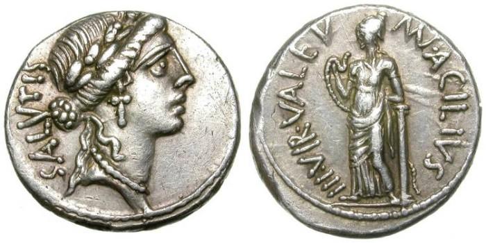 Ancient Coins - ROMAN REPUBLIC. DENAR. ACILIA. SO NICE SPECIMEN !