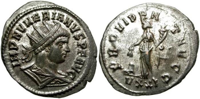 Ancient Coins - NUMERIAN.  AE ANTONINIANUS.  TICINUM  MINT.  FANTASTIC  PORTRAIT.