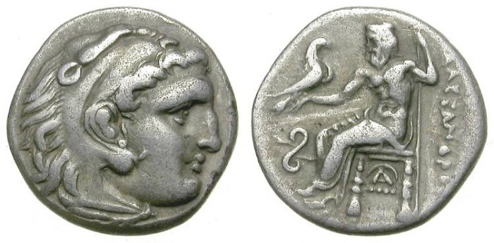 Ancient Coins - ALEXANDER THE GREAT. DRACHM. VERY ATTRACTIVE