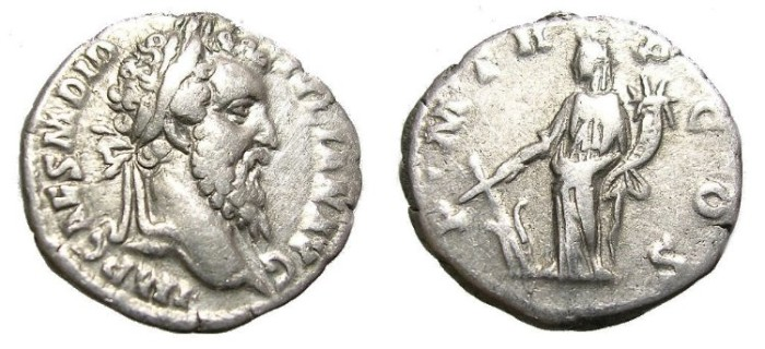 Ancient Coins - DIDIUS  JULIANUS,  A. D.  193.  VERY  RARE.