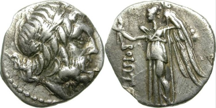Ancient Coins - BOEOTIAN LEAGUE. DRACHM. GOOD SPECIMEN