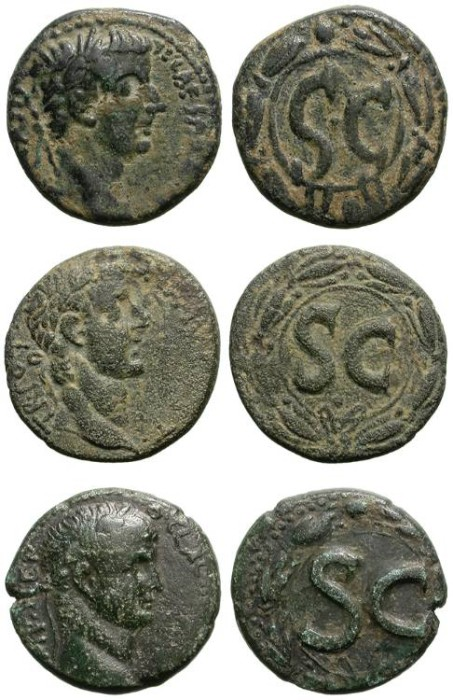 Ancient Coins - SELEUCIS & PIERA. ANTIOCHIA AD ORONTES. LOT OF 3 NICE BRONZE COINS