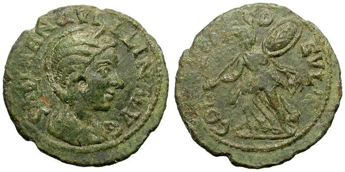 Ancient Coins - TRANQUILLINA. DEULTUM. PROVINCIAL ISSUE IN LATIN LEGEND
