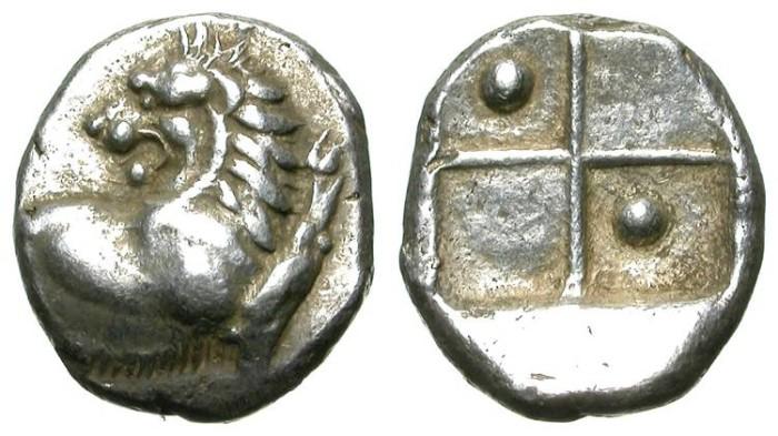 Ancient Coins - TRACIAN CHERRSONESSOS. TETROBOL. A EF. BEAUTIFUL SAMPLE !