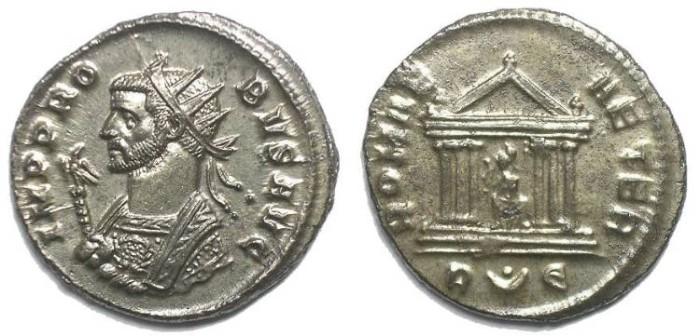 Ancient Coins - PROBUS ANTONINIANUS. REV/ ROMA AETER. VERY GOOD QUALITY.
