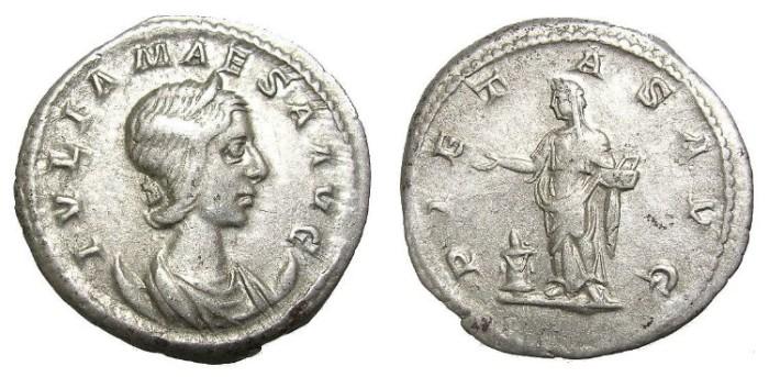 Ancient Coins - JULIA  MAESA  ANTONINIANUS.  SCARCE.