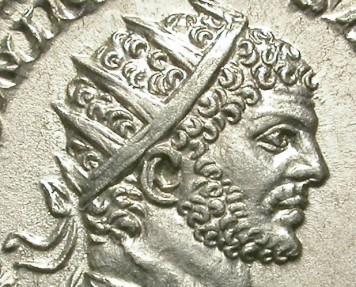 Ancient Coins - CARACALLA. AG ANTONINIAN. NICE EF. IMPRESSIVE PORTRAIT !