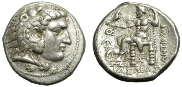 Ancient Coins - VERY RARE SELEUCID TETRADRACHM. ANTIOCHOS I. EKBATANA