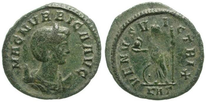 Ancient Coins - MAGNIA URBICA: AE ANTONINIAN. RARE EMPRESS. OPPORTUNITY