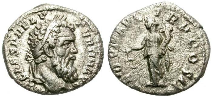 Ancient Coins - PERTINAX. SILVER DENARIUS. VERY RARE EMPEROR. NICE PORTRAIT