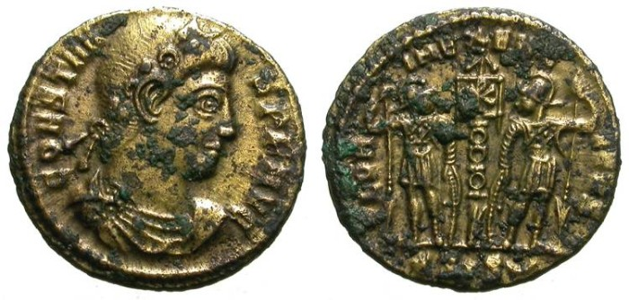 """Ancient Coins - CONSTANS. FOUREE """"SEMISSIS"""". SUCH A BEAUTIFUL ANCIENT FAKE !"""