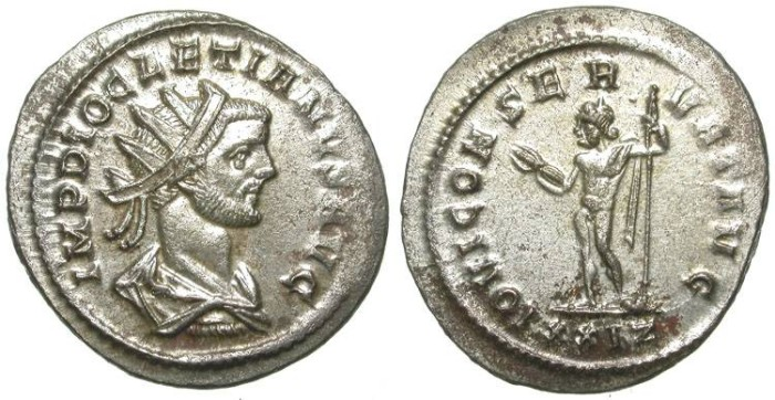Ancient Coins - DIOCLETIAN. AE ANTONINIANUS. GREAT CONDITION. NICE !