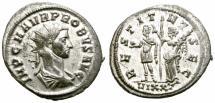 Ancient Coins - PROBUS. 276-282 AD. ANTONINIANUS. TICINUM.  GOOD VERY FINE.
