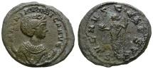 Ancient Coins - MAGNIA URBICA. AE ANTONINIANUS. TICINUM MINT. RARE AND AFFORDABLE