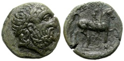 Ancient Coins - THRACE. SEUTHES III. AE18. NICE DARK GREEN PATINA. GOOD COIN