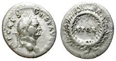 Ancient Coins - VESPASIAN. DENARIUS. AD 73. ROME. ATTRACTIVE AND INTERESTING PRICE.
