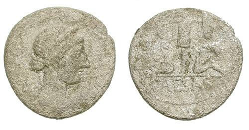 Ancient Coins - JULIUS CAESAR. DENAR. LITTLE QUALITY AT A LOW PRICE !