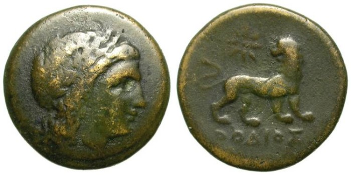 Ancient Coins - MILET, IONIA. INTERESTING BRONZE ISSUE. NICE