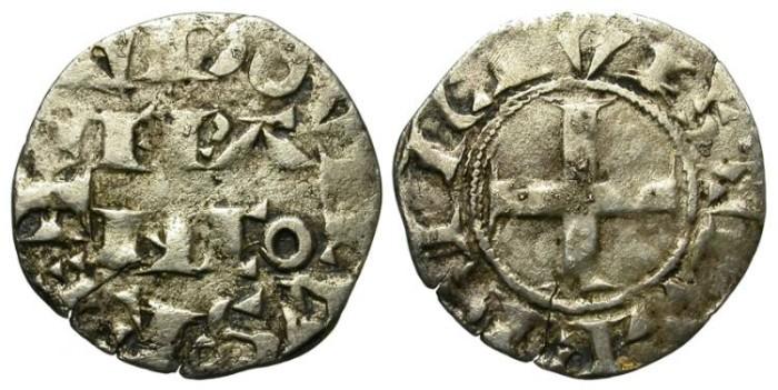 World Coins - LOUIS VII.  SILVER DENIER. 1137-1180  PARIS MINT.