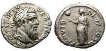 Ancient Coins - PERTINAX. SILVER DENARIUS. ROME MINT. RARE AND ATTRACTIVE ISSUE