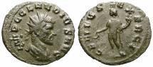 Ancient Coins - CLAUDIUS II GOTHICUS. BILLON ANTONINIANUS. GENIUVS EXERCI. WELL CENTERED