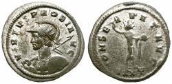 Ancient Coins - PROBUS. 276-282 AD. ANTONINIANUS. TICINUM. INTERESTING PRICE.